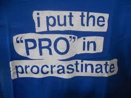 Procrastination Counts