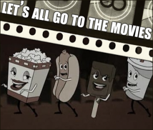Let's all go to the movies